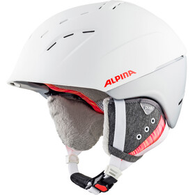 Alpina Spice Ski Helmet white-flamingo matt